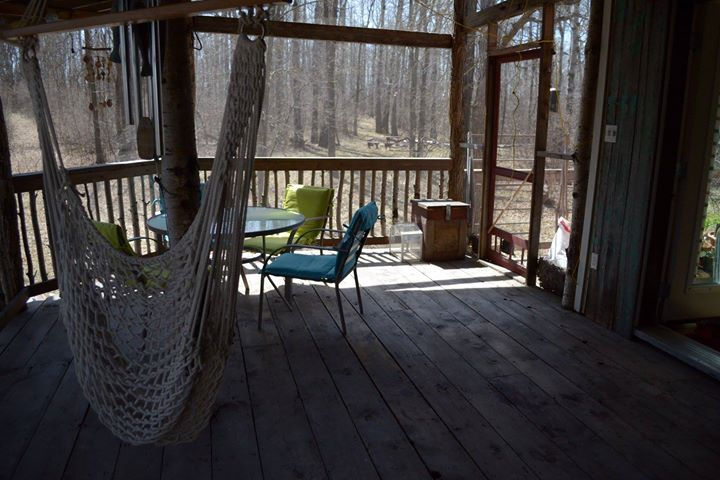 Jason Dyck screened in porch